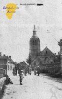 Rue Principale et Église - Contributeur : Guy Gilkin
