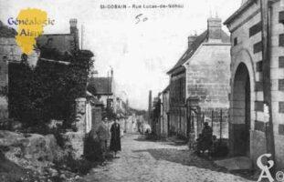 Rue Lucas-de-Néhou - Contributeur : Guy Gilkin