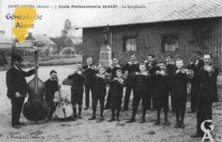 École Professionnelle SAVART - La Symphonie - - Contributeur : Guy Gilkin