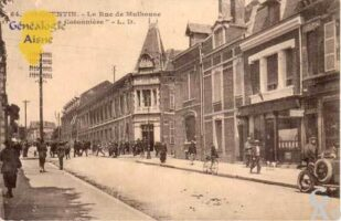 la rue de Mulhouse et la