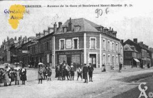 Avenue de la Gare et Boulevard Saint-Martin - Contributeur : Guy Gilkin
