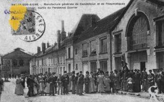 Manufacture Générale de Caoutchouc et de Pneumatiques - Sortie du Personnel Ouvrier.  - Contributeur : Guy Gilkin