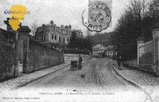Route d'Ain et le Château Saint-Vincent - Contributeur : Guy Gilkin