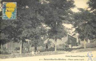 Place Verte en 1923 - Contributeur : Serge Hiet