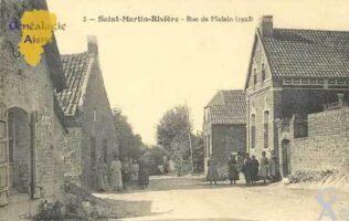 Rue  Molain en 1923 - Contributeur : Serge Hiet