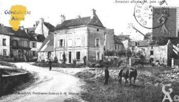 Invasion Allemande Juin 1918. - Contributeur : François Gérard