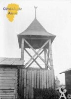 Le clocher provisoire - Contributeur : Avec l'aimable autorisation du ministère de la Culture - Base mémoire
