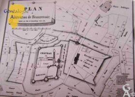 plan du château - Contributeur : Archives municipales de Saint-Quentin