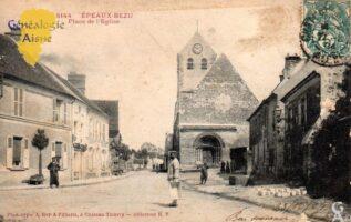 Place de l'église - Contributeur : G.Langlois