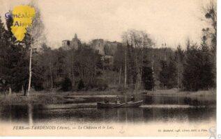Le château et le lac - Contributeur : G.Langlois