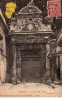 La porte du Collège - Contributeur : G.Langlois