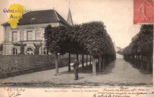 Ecole et promenade - Contributeur : G.Langlois
