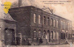 Place de la mairie - Contributeur : A. Demolder
