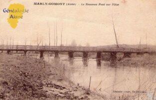 Le nouveau pont sur l'Oise - Contributeur : A. Demolder