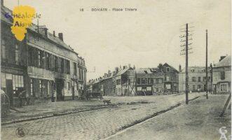 Place Thiers - Contributeur : Mme Bouillon