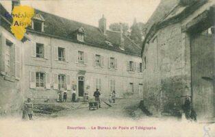 Le bureau de poste et télégraphe - Contributeur : F.Gérard - C.G.P.T.T.