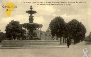 Place Dufour-Denelle - Contributeur : Christiane Brenu
