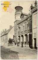 L'hôtel des postes - Contributeur : F.Gérard - C.G.P.T.T