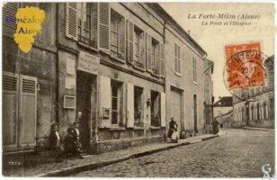 La poste et l'hospice - Contributeur : F.Gérard - C.G.P.T.T