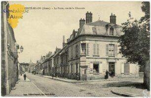 La poste, rue de la Chaussée - Contributeur : F.Gérard - C.G.P.T.T