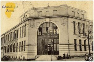 Hôtel des postes - Contributeur : F.Gérard - C.G.P.T.T
