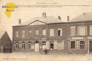 La mairie - Contributeur : F.Gérard - C.G.P.T.T