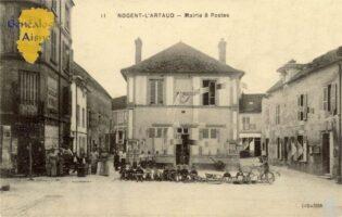 Mairie et Poste - Contributeur : F.Gérard - C.G.P.T.T