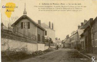 La rue des Juifs - La mairie et la poste - Contributeur : F.Gérard - C.G.P.T.T
