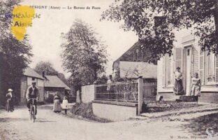 Le bureau de poste - Contributeur : F.Gérard - C.G.P.T.T
