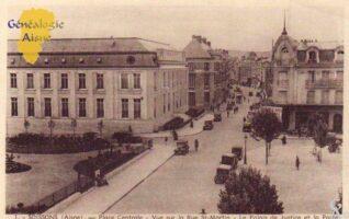 Place centrale - Contributeur : F.Gérard - C.G.P.T.T