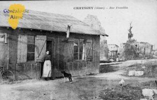Rue Franklin - Contributeur : P. Courcy