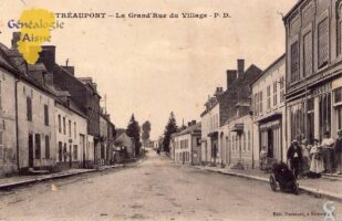 La grand rue du village - Contributeur : A.Demolder