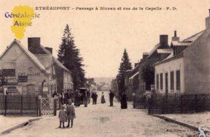 Passage à niveau et route de La Capelle - Contributeur : A.Demolder