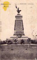 Le monument aux morts - Contributeur : A.Demolder