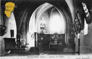 L'intérieur de l'église - Contributeur : A.Giffard
