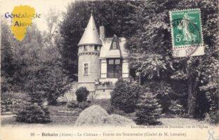 Le château - Entrée des souterrains - Contributeur : A.Giffard