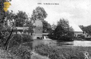 Le moulin et la scierie - Contributeur : D. Cadour