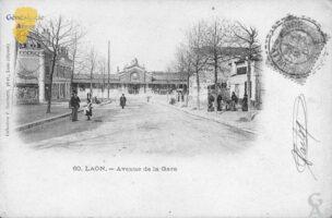 Avenue de la gare - Contributeur : F. Rousseau