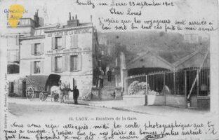 Escalier de la gare - Contributeur : F. Rousseau