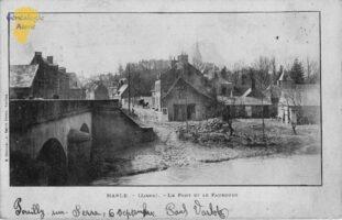 Le pont et le faubourg - Contributeur : F. Rousseau