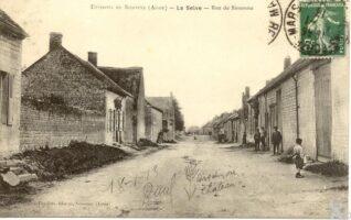 L'abreuvoir et l'ancien moulin - Contributeur : J.F. Martin