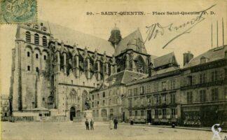 Place St-Quentin - Contributeur : J. Rohat