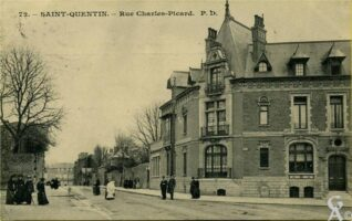 Rue Charles Picard - Contributeur : J. Rohat