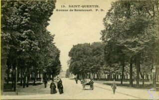 Avenue de Remicourt - Contributeur : J. Rohat