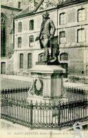 Statue Quentin de la Tour - Contributeur : J. Rohat