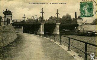 Le pont et le canal - Contributeur : J. Rohat