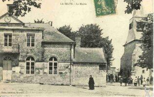 La mairie 1900 - Contributeur : J.F. Martin