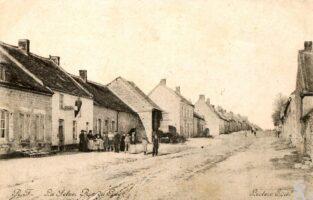 Rue de l'abreuvoir 1900 - Contributeur : J.F. Martin