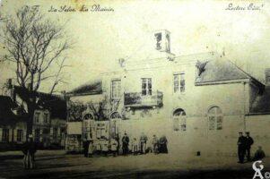 La mairie 1906 - Contributeur : J.F. Martin