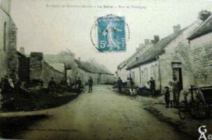 Rue de Montigny 1914 - Contributeur : J.F. Martin